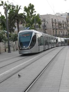 Jerusalem - Train (Traveltinerary)