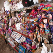 Cuzco - Handicraft Shop (Traveltinerary)