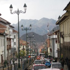 Street in Cuzco (Traveltinerary)
