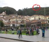 Plaza de Armas de Cuzco - Sacsayhuaman on the hill (Traveltinerary)