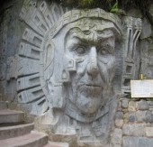 Machu Picchu - Sculptures (Traveltinerary)