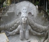 Machu Picchu - Pachamama Sculpture (Traveltinerary)
