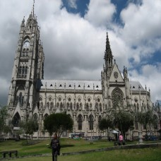 Quito, Ecuador - Basilica and it's Neo-Gothic design (Traveltinerary)