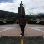 Quito, Ecuador - Walking a fine line at Mitad del Mundo (Traveltinerary)