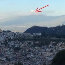 Ecuador - Cotapaxi in the distance (Traveltinerary)