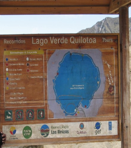 Quilotoa, Ecuador - Lagoon hiking trail legend (Traveltinerary)
