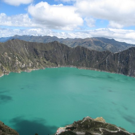 Quilotoa, Ecuador - The lagoon (Traveltinerary)