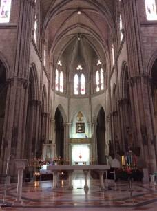 Quito, Ecuador - The cupola of the Basilica (Traveltinerary)