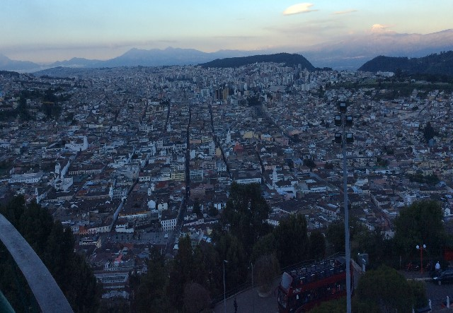 Quito, Ecuador - View from El Panecillo (Traveltinerary)