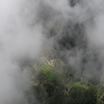 Waiyna Picchu - View of Machu Picchu from Waiyna Picchu (Traveltinerary)