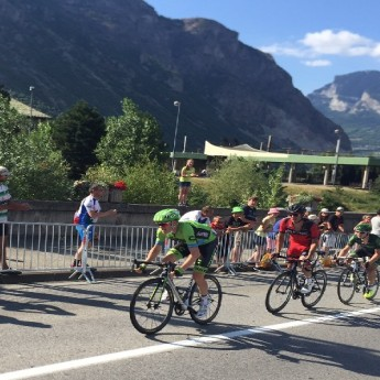 Cyclist in Green Jersey - Tour de France 2015 (Traveltinerary)