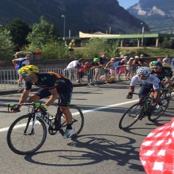 Nairo Quintano in White Jersey - Tour de France 2015 (Traveltinerary)