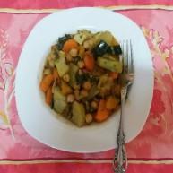 One Pot Cooking - Veggie Stew (Traveltinerary)