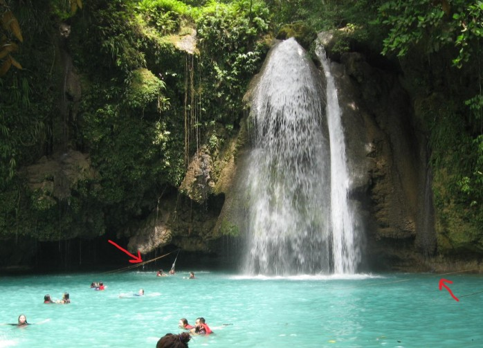 Cebu Philippines_Kawasan Falls