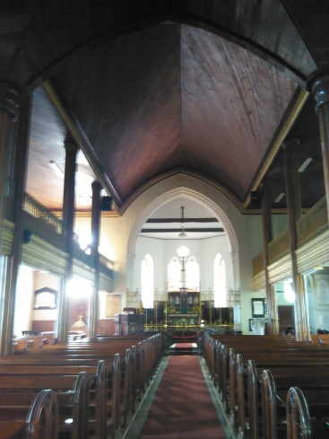 An inside peak of the church (Traveltineraries)