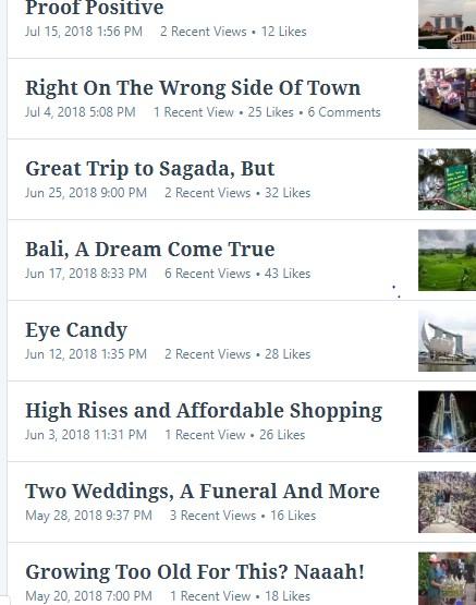 SA Tour Blog Posts